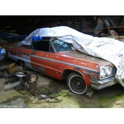 1964 Impala Convertible Barn Find!