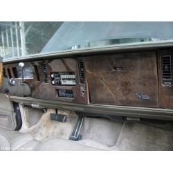 1985 Buick Riviera Burl Wood Dash Trim